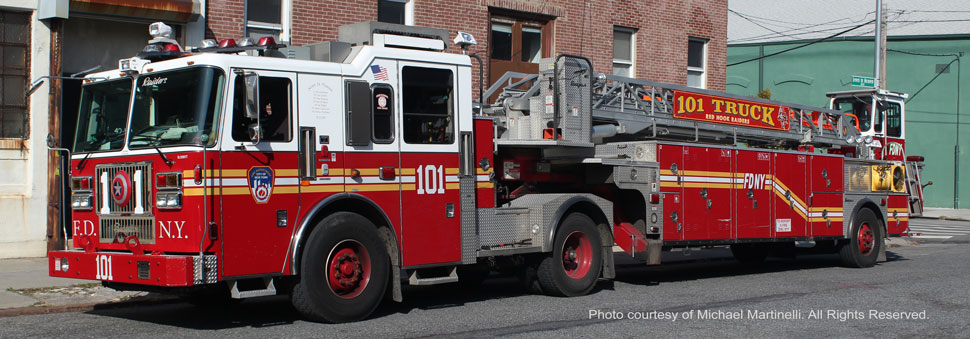 FDNY Ladder 101 in Brooklyn, NY