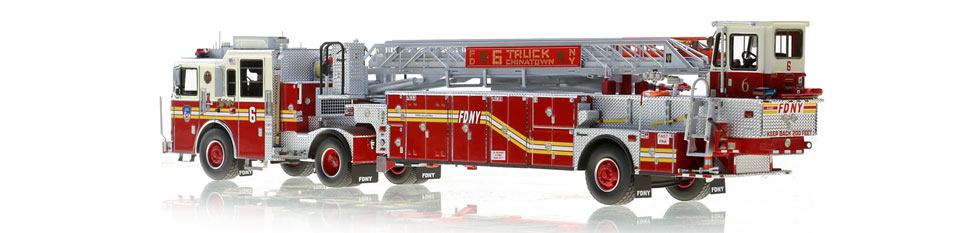 Production of FDNY Ladder 6 is limited to 125 units