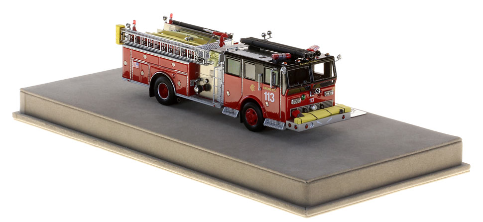 Production of Chicago Engine 113 is limited to 75 units.