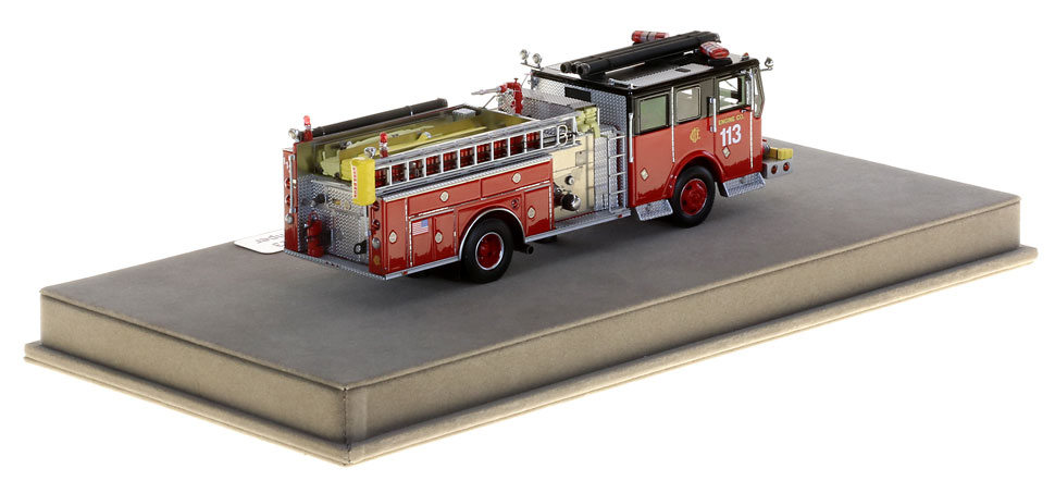 Chicago Engine 113 is hand-crafted from over 430 parts