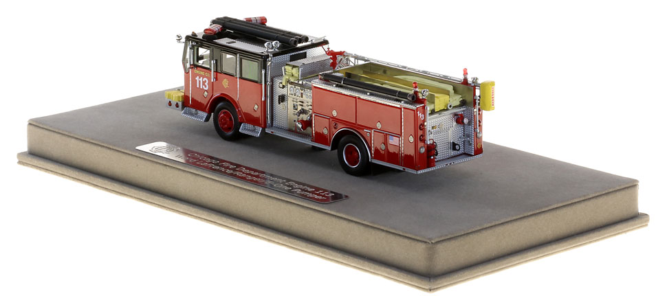 Chicago Engine 113 includes a fully custom case