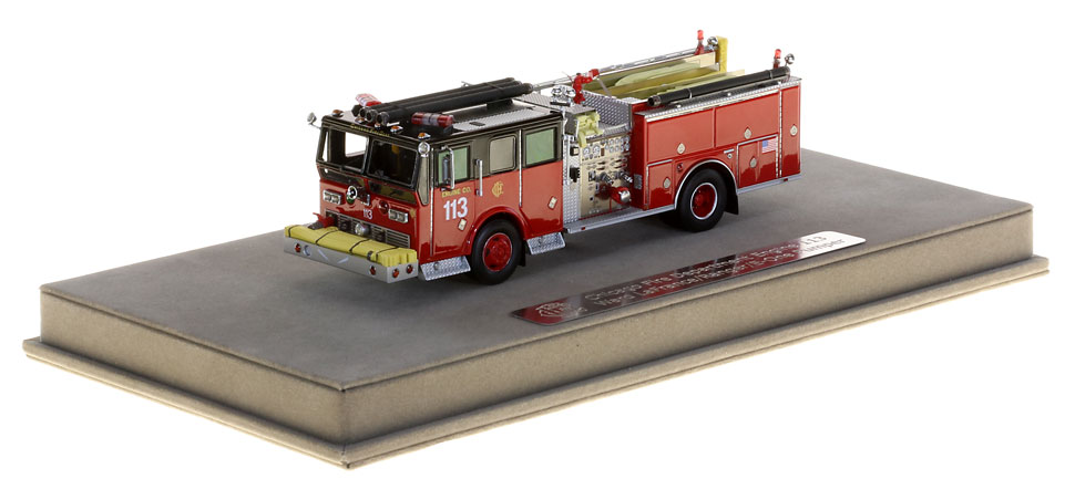 Chicago Engine 113 features authentic and precise details