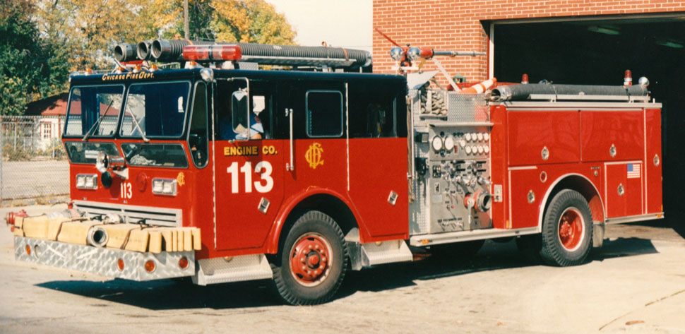 Chicago Fire Department Engine 113