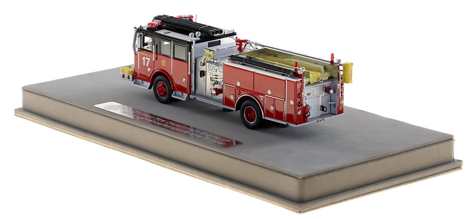 Order your Chicago Ward LaFrance/E-One/Ranger Engine 17 today!