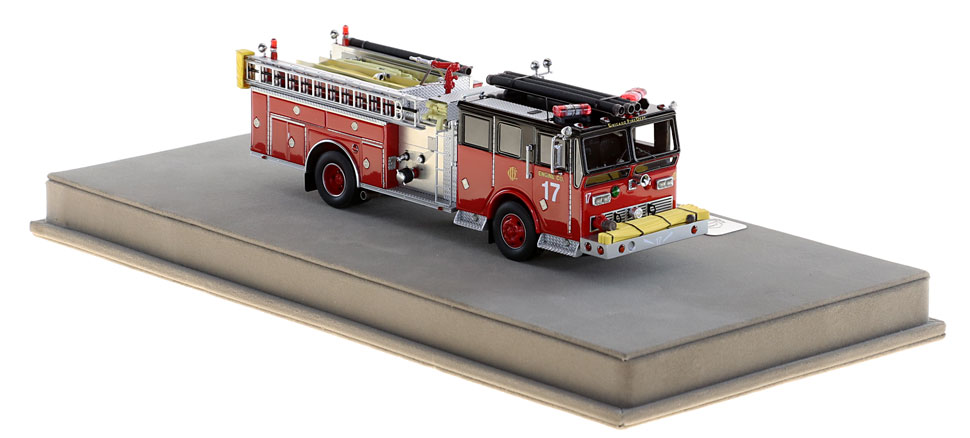 Take home your very own Chicago Engine 17!