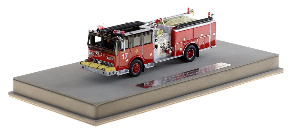 Chicago Engine 17 includes a fully custom display case.