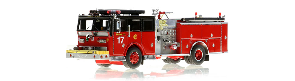 Chicago Engine 17 is hand-crafted