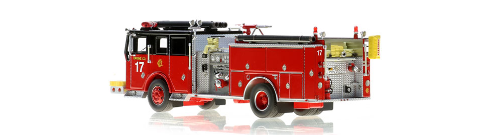Chicago Engine 17 is limited in production