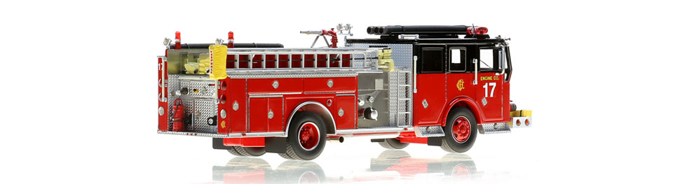 Chicago Engine 17 features authentic details