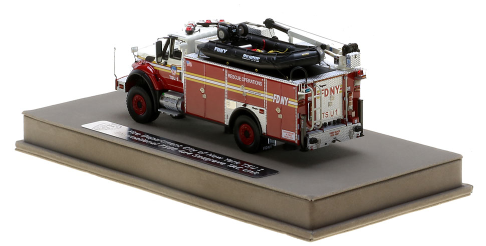 FDNY TSU 1 features authentic details