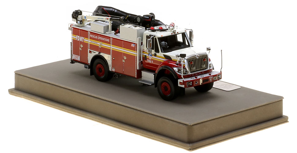 Order your FDNY TSU scale model today!