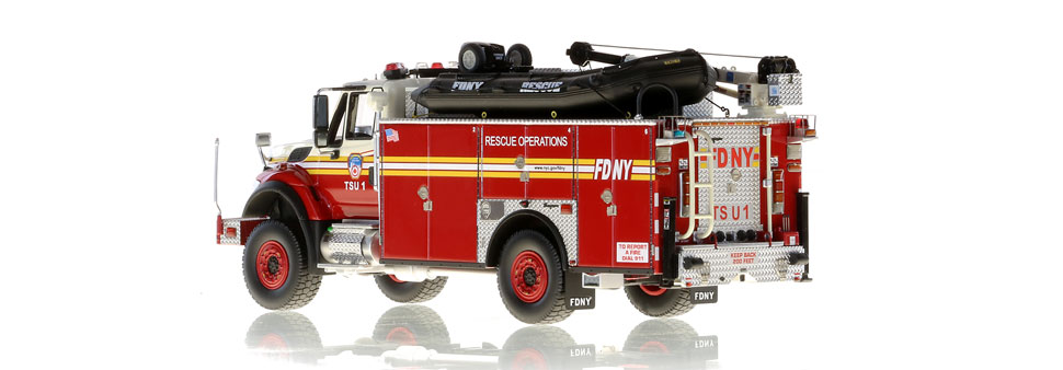 FDNY TSU 1 scale model is limited to 150 units
