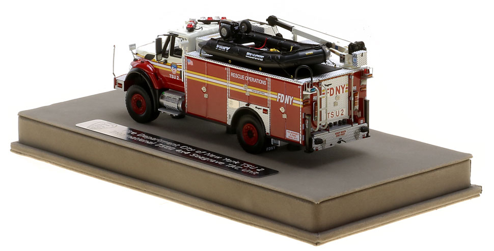 FDNY TSU 2 features authentic details