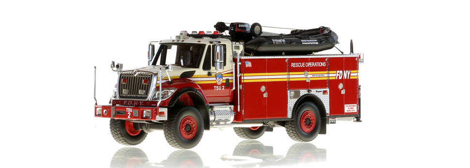 FDNY TSU 2 features razor sharp detail