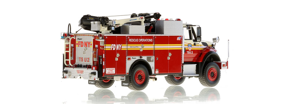 Production is limited to 100 units of FDNY TSU 2