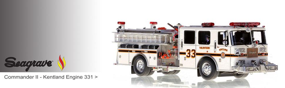 Shop Seagrave scale model fire trucks including Kentland Engine 331