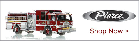 Shop Pierce scale model fire trucks