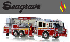 See all Seagrave scale model fire trucks