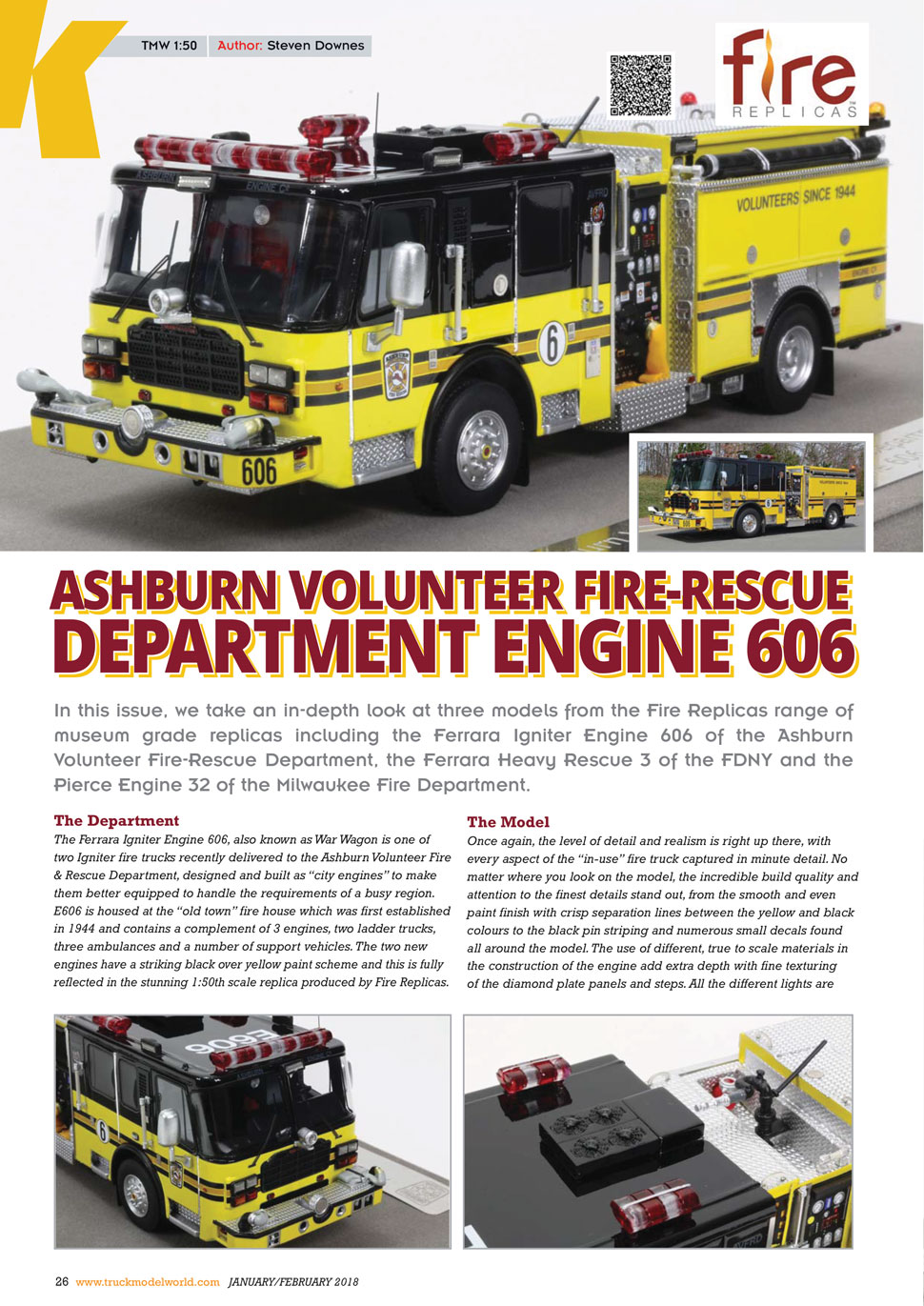 As seen in Truck Model World, U.K. magazine