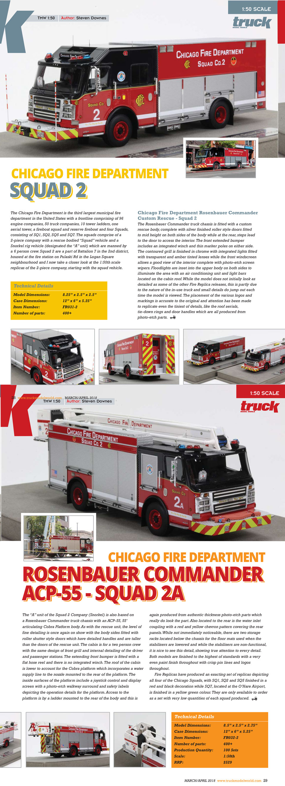 As seen in Truck Model World, March/April 2018 issue