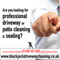 Professional Driveway and Patio Cleaning and Sealing