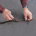 Pli-Stix Permanent Crack Filler Being Applied