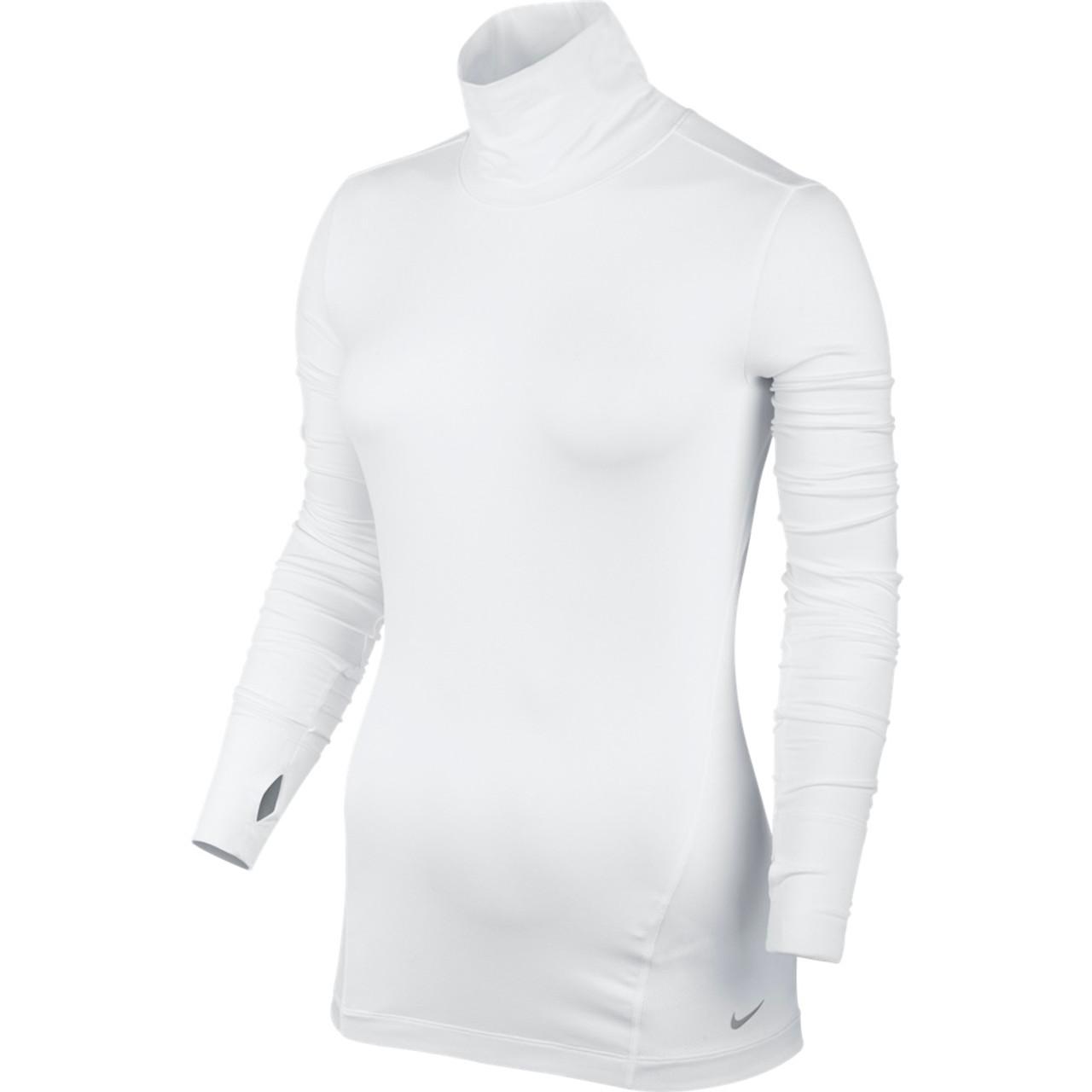 Nike golf women 39 s mock shirt black metallic silver x small for Silver metallic shirt women s