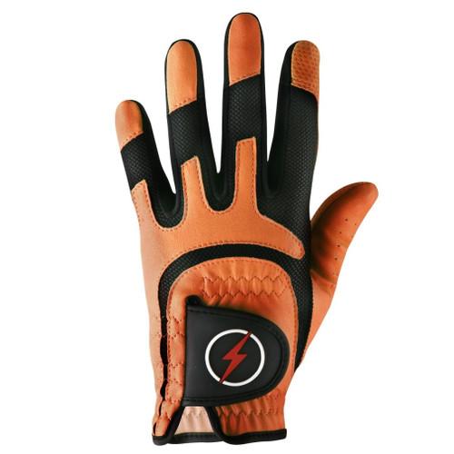 PowerBilt Men's One-Fit Golf Glove - Orange