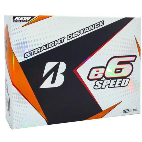 Bridgestone 2017 e6 Speed Golf Balls - 1 Dozen - White