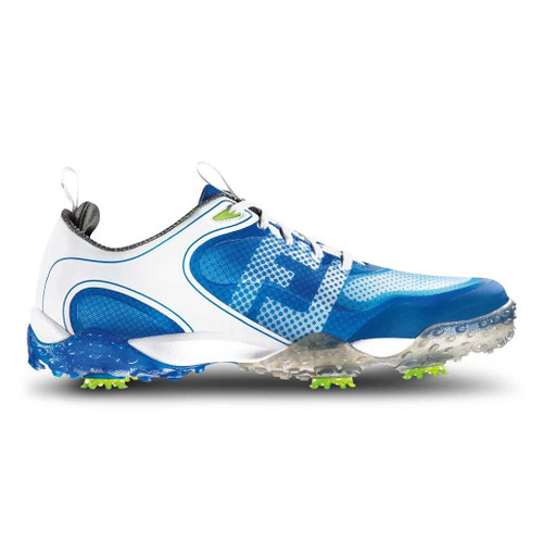 FootJoy Freestyle Men's Golf Shoe (Previous Season) - White/Electric Blue