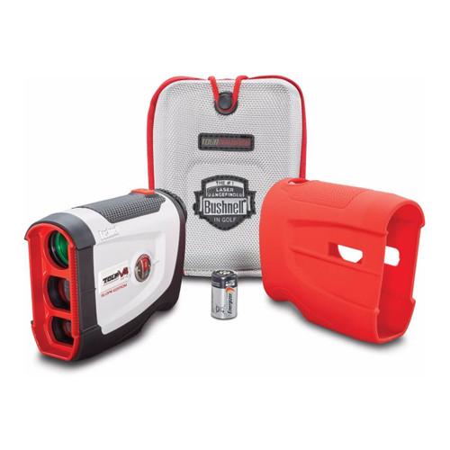 Bushnell Golf Tour V4 Shift Laser Rangefinder - Patriot Pack