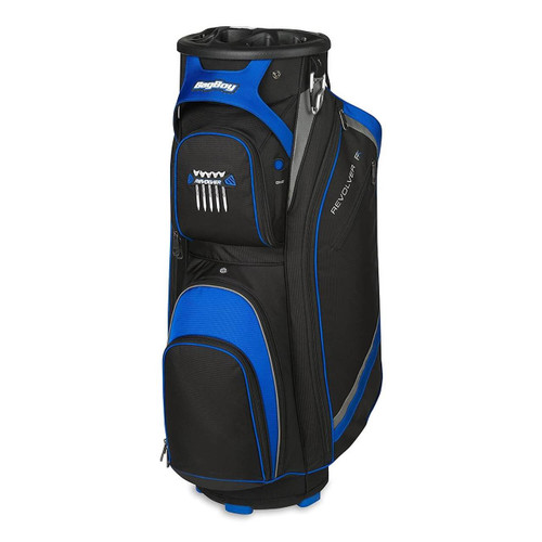 Bag Boy Revolver Fx Golf Cart Bag Black Royal Silver