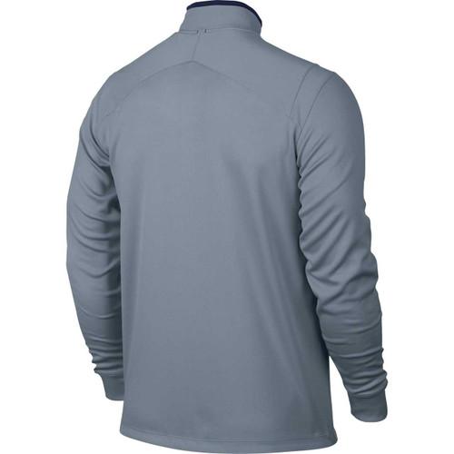 ... Nike Golf Dri-Fit 1/2 Zip Longsleeve - Blue Grey/Midnight Navy
