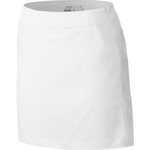 White Nike Skort front