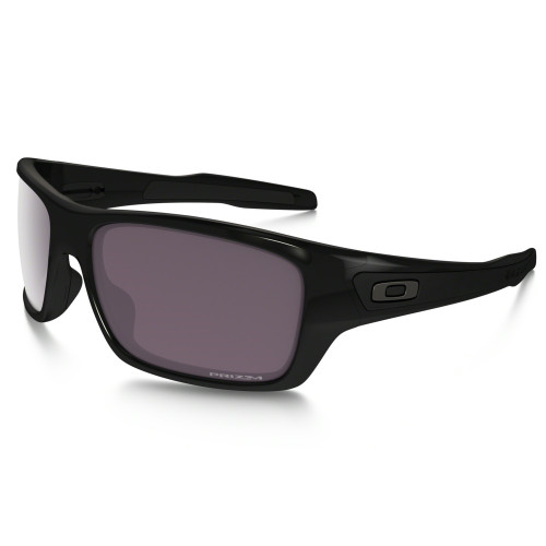 Oakley Sunglasses PRIZM Daily Turbine Polish Black w/ STANDARD Lens