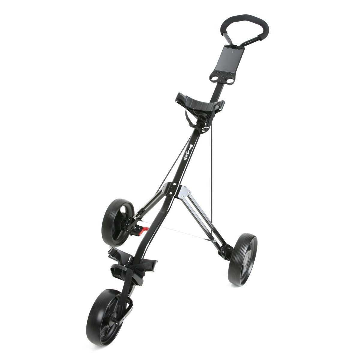 Orlimar Sport Trakker Two/Three Wheel Golf Push Cart - Black ... on golf players, golf handicap, golf card, golf buggy, golf games, golf tools, golf accessories, golf words, golf cartoons, golf hitting nets, golf machine, golf girls, golf trolley,