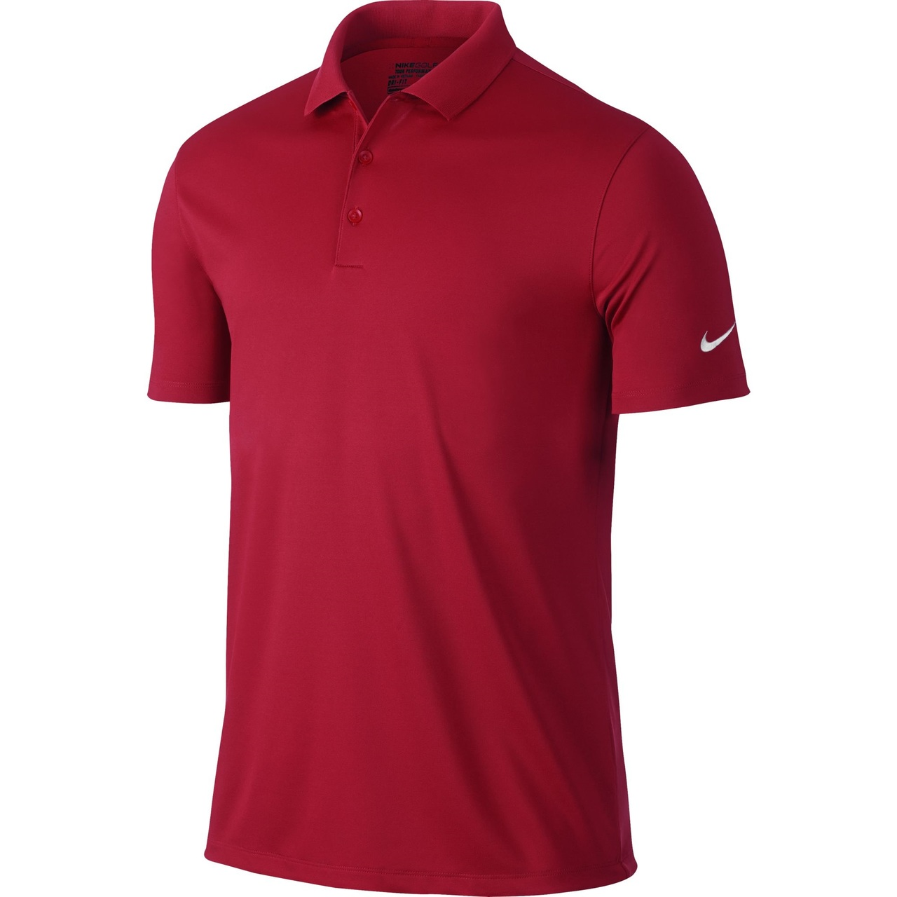 Nike Victory Solid Team Crimson/White Factory Sale