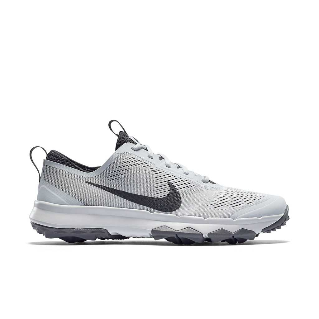 Nike FI Bermuda Men's Spikeless Golf Shoe - Pure Platinum/Anthracite/White
