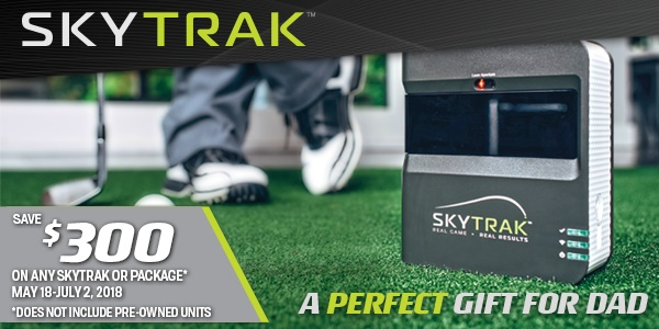 SkyTrak Father's Day Sale! $300 off