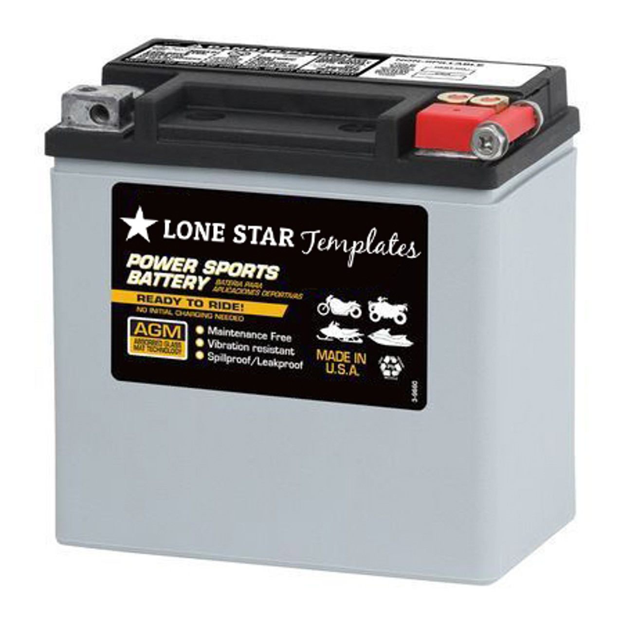 LoneStar Basics Battery