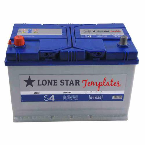 Super Punch Blue Battery