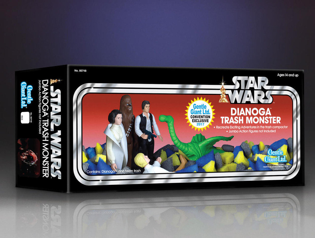 Star Wars Dianoga Trash Monster Jumbo Figure - 2017 Convention Exclusive Thumbnail 5