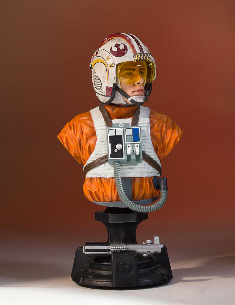 Luke Skywalker (X-Wing Pilot) 40th Anniversary Classic Mini Bust - 2017 Convention Exclusive
