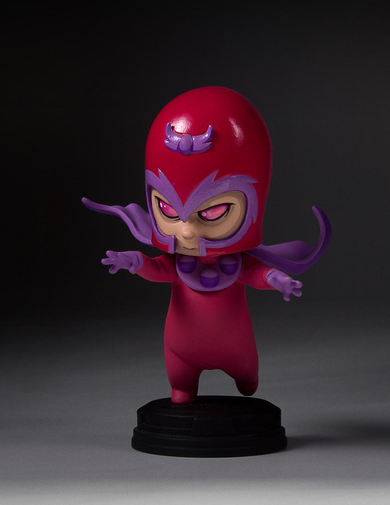 Magneto Animated Statue