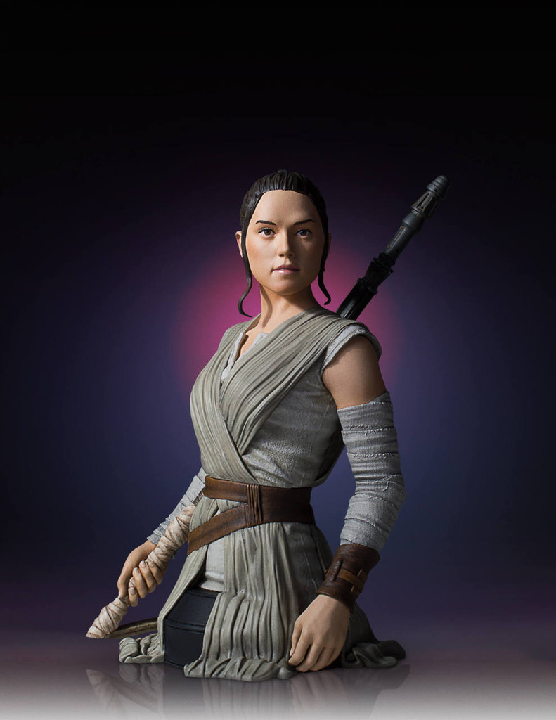Rey Star Wars Episode 7 Mini Bust