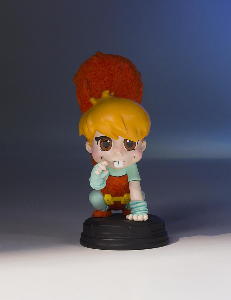 Squirrel Girl Animated Statue