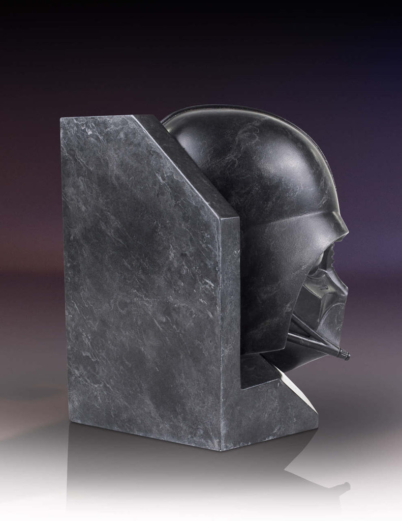 Darth Vader Star Wars STONEWORKS Faux Marble Bookend