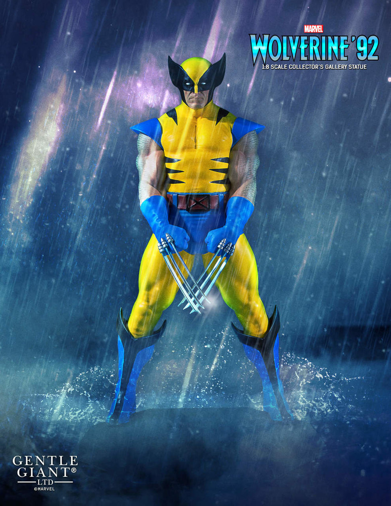 Wolverine '92 Collector's Gallery Statue