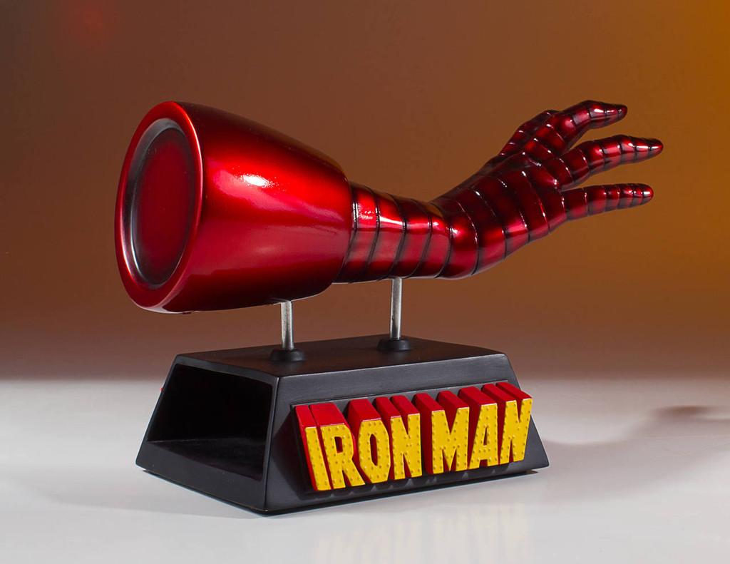 Iron Man Business Card Holder Desk Accessory