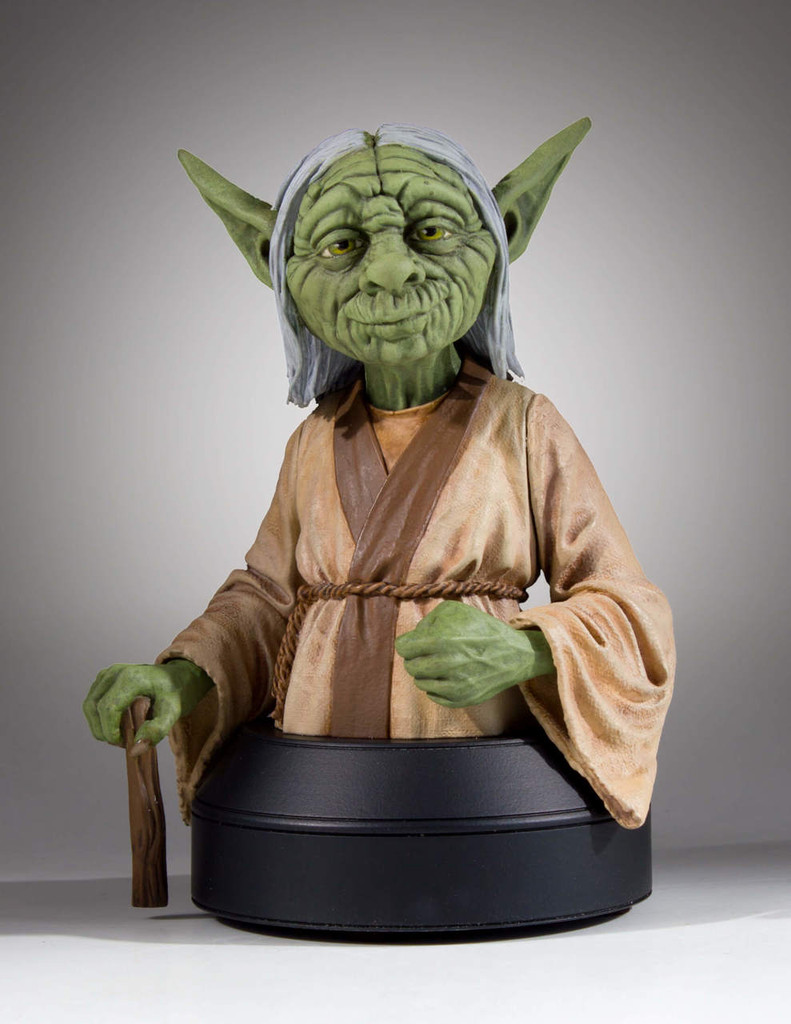 Yoda (Concept Series)  Mini Bust - 2018 SDCC Exclusive